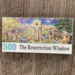 Resurrection Window Jigsaw Puzzle