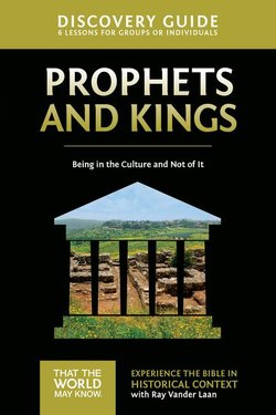 Prophets and Kings Discovery Guide: Being in the Culture and Not of It (Faith Lessons Vol 2)