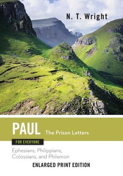 Paul for Everyone, Prison Letters (Enlarged Print)