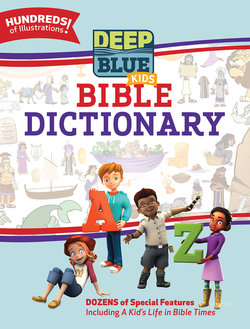 CEB Deep Blue Bible Dictionary