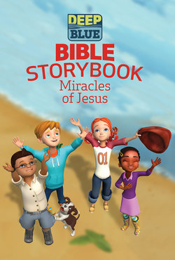 Deep Blue Bible Storybook Miracles of Jesus