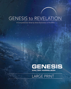 Genesis to Revelation Revised Genesis Large Print Participant Guide