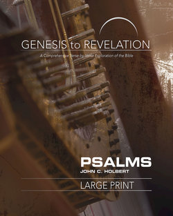 Genesis to Revelation Revised Psalms Large Print Participant Guide
