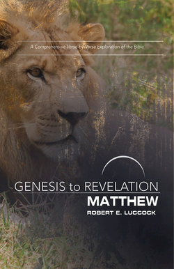Genesis to Revelation Revised Matthew Participant Guide