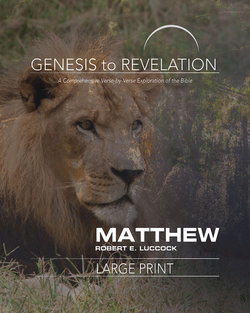 Genesis to Revelation Revised Matthew Large Print Participant Guide