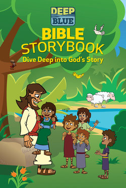 CEB Deep Blue Bible Storybook