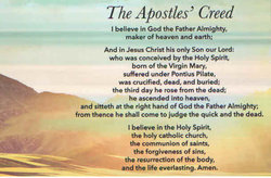 Apostle's Creed Magnet pkg 10