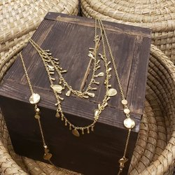 Necklace Ethereal Layers Gold