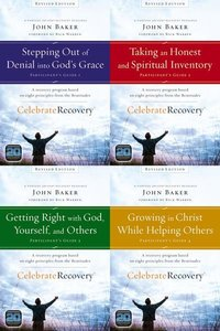 Celebrate Recovery Revised Participant's Guide Set of 4