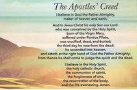 Apostle's Creed Magnet pkg 25