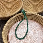 Necklace Kantha Chromatic Teal