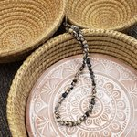 Necklace Kantha Chromatic Black White