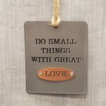 Ornament Do Small Things with Great Love
