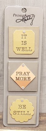 Magnet Set It is Well Pray More Be Still
