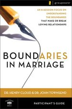 Boundaries in Marriage participant guide