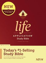 NIV Life Application Study Bible Hardcover Third Edition Red Letter